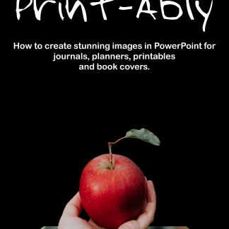 Cover for Print-Ably Course